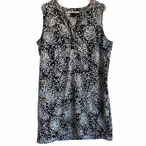 ANN TAYLOR   BLACK + WHITE DRESS XL
